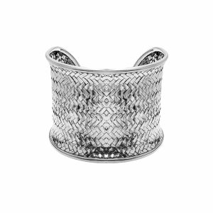 Bratara de argint 925 lata cu impletitura