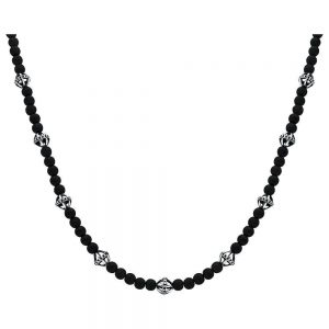 colier designer twisted blade- bijuterii unicat