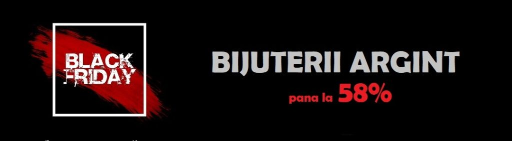 OFERTA BLACK FRIDAY bijuterii ARGINT banner -