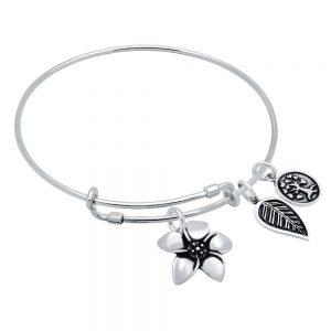 Bratara-argint-reglabila-cu-floare-frunza-si-copac-3275