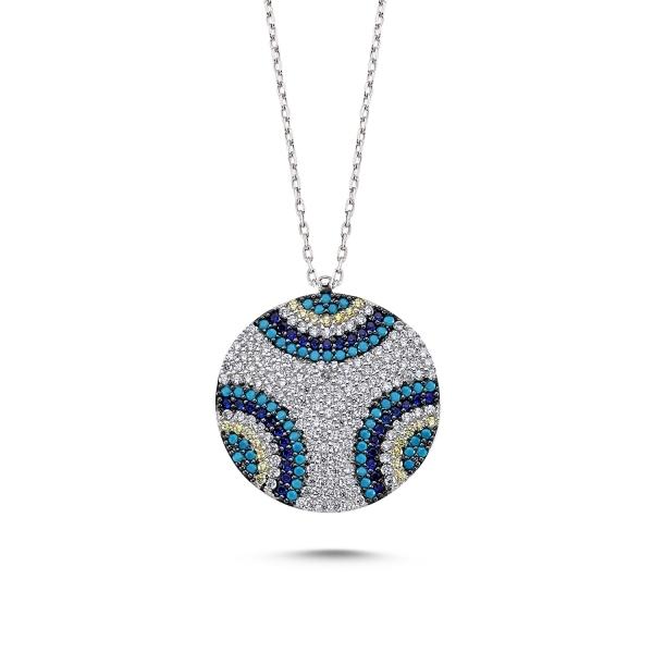 Colier argint cu zirconii - Be Elegant