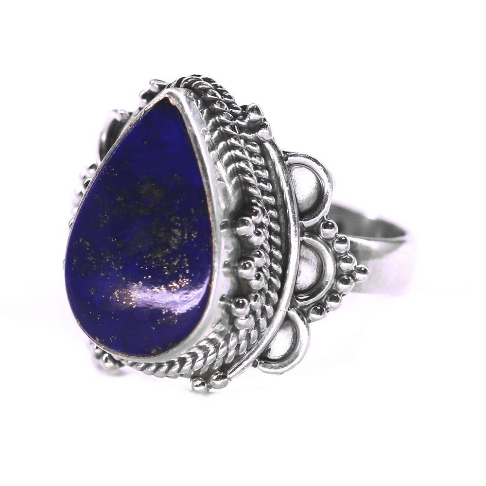 bijuterii argint cu pietre pentru Zodia Fecioara - Lapis Lazuli