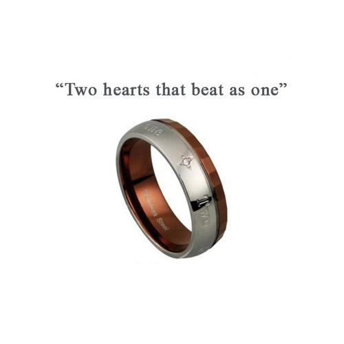 Two hearts that beats as one