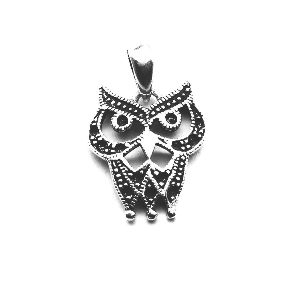 talisman feng shui - pandantiv bufnita